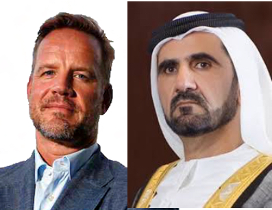 Carl Freer - Criminal and Sheikh Mohammed bin Rashid Al Maktoum - King